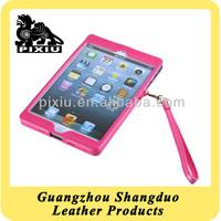 Colourful Design Good Handmade PU Leather Case for Ipad Mini