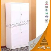 School furniture 2 tier 4 Door Compartment Steel Clothes Locker/Metal Closet Cabinet