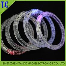 Superior led User-Friendly Exquisite Flashing Led Bracelet,8 led flashing bracelet,acrylic led flashing bracelet
