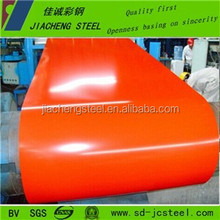 0.13-0.80mm thick Color coated PPGI/PPGL steel Roofing material in coils