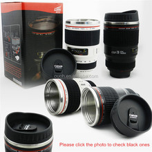 china price caniam 28-135mm 3G white camera lens decorate coffee mug with rubber