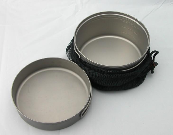 Набор посуды Firemaple & panCookware 218g Titanium cookware