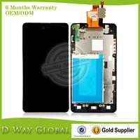 Original New Screen For LG Optimus G Sprint LS970 E975 F180 E973 E971 LCD With Digitizer With Frame