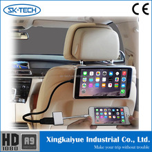 New headrest 9 inch Android moblie phone and Iphone car lcd monitor with hdmi input