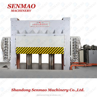 block board hot press machine/plywood production hot press making machine/Furniture melamine paper hot press