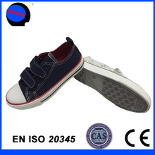 High quality buckle strap style cheap causal canvas shoe