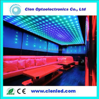 crystal hanging beads, addressable flexible led strip, LPD8806 led strip for decoration lighting project