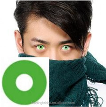 GEO Crazy Halloween Contact Lens CP-F4 Green (Korean Authentic Lens with anit-fake stickers)