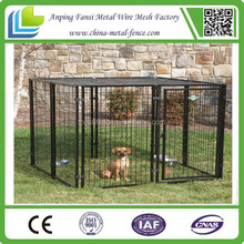 """China supplier 1 3/8"""" O.D. glavanized tubing frames fully welded 4 x 4 x 6 H Portable Dog Kennels / dog cage"""