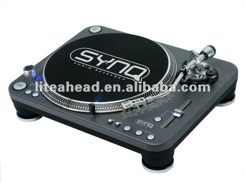 high torque direct drive stereo pro dj turntable synq x trm 1 buy stereo turntable dj. Black Bedroom Furniture Sets. Home Design Ideas