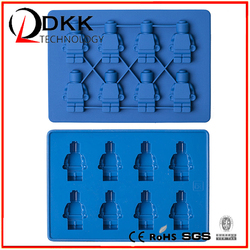 DKK Food silica gel -B010 robot Silicone ice cube tray /silicone ice tray/silicone ice lattice