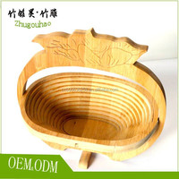 Eco-friendly fruit basket made by Bamboo kitchen accessary