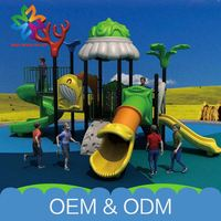 Wholesale Amusement Park Toys Free Customize Children Play Plastic Kids Outdoor Playground Items For Children