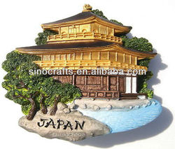 Custom japan souvenir fridge magnet