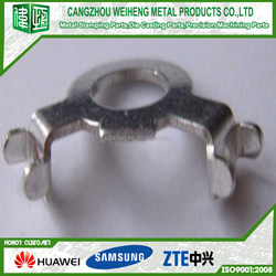 Ni Plating metal hook Cold Carbon Steel Customized Connector