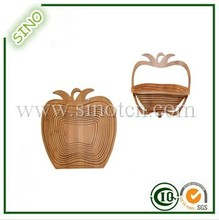 2015 SINO New Pine Apple Bamboo Ikea Fruit Basket