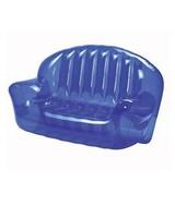 Inflatable fashion confortable light blue inflatable sofa /durable sofa