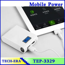 Full battery charges 12000mah power banks stone digitizer screen AAA 18650 cells for tablet