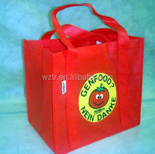 fashion and beautiful bottle glass bag,non woven bag