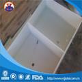 Anti corrosão branco PP soldadura líquido químico tanque com ripa