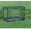 Folding Metal Dog Cage