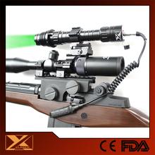 Long distance subzero 100mw green laser flashlight as a hunting lights