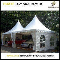 Clear span rain proof car parking shed of cheal car ports for sale