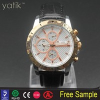 Newest snake skin leather watch for corporate gift import and export good quality wristwatch