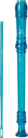 Barato e bonito plástico transparente clarinete / plástico ambiental clarinete