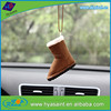 customized new car scented hanging shoe air freshener for car