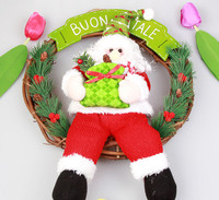 Popular plush snowman Christmas toy stuffed action figures soft cartoon Father Christmas decoration dolls