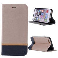 For iphone premium leather case,2 colors pu leather cover for iPhone 6s plus