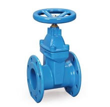 Z45X-16 Resilient seated non-rising stem wedge flange gate valve
