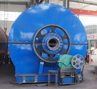 Automatic waste tyre recycling machine