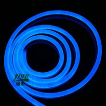 Waterproof DC12V extremely bright BLUE color LED neon flex for decoration and holiday,# Shanghai Liyu LY-CL-24V-EB