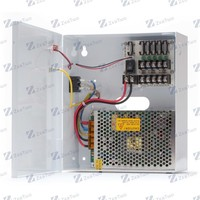 12V 10A CCTV camera power supply, switching power supply, 5 output channels for multiple cameras