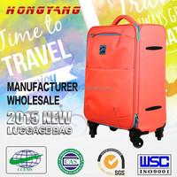 China 2015 teenage school bags,luggage on wheels,soft travel luggage