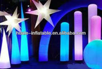 Different shapes outdoor inflatable lighting, decorative inflatables with led light