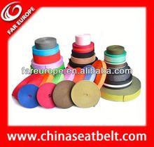10mm thick jacquard nylon ribbon decorative elastic webbing