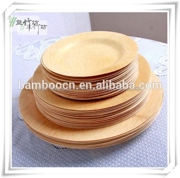 biodegradável bambu jantar <span class=keywords><strong>pratos</strong></span> <span class=keywords><strong>para</strong></span> a <span class=keywords><strong>festa</strong></span>