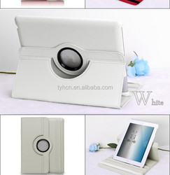 Luxury Ultra thin Flip 360 degreen rotating case for iPad 2 3 4 leather rotation Case