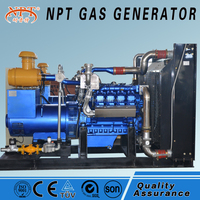 Wood gas power plant 10kW to500kW
