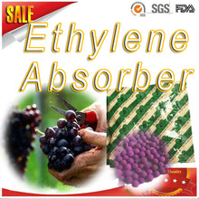 ethylene absorber for red peruvian grapes/ethylene scavenger for peruvian grapes/ethylene absorbent