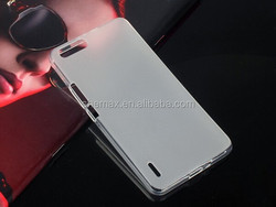 new products to sell CRYSTAL CASE FOR HUAWEI HONOR 6 plus TRANSPARENT soft COVER CASE BACK SHELL BUMPER