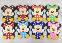 Mobile Phone Silicone Case for ipad 5 (Wave point of Minnie)