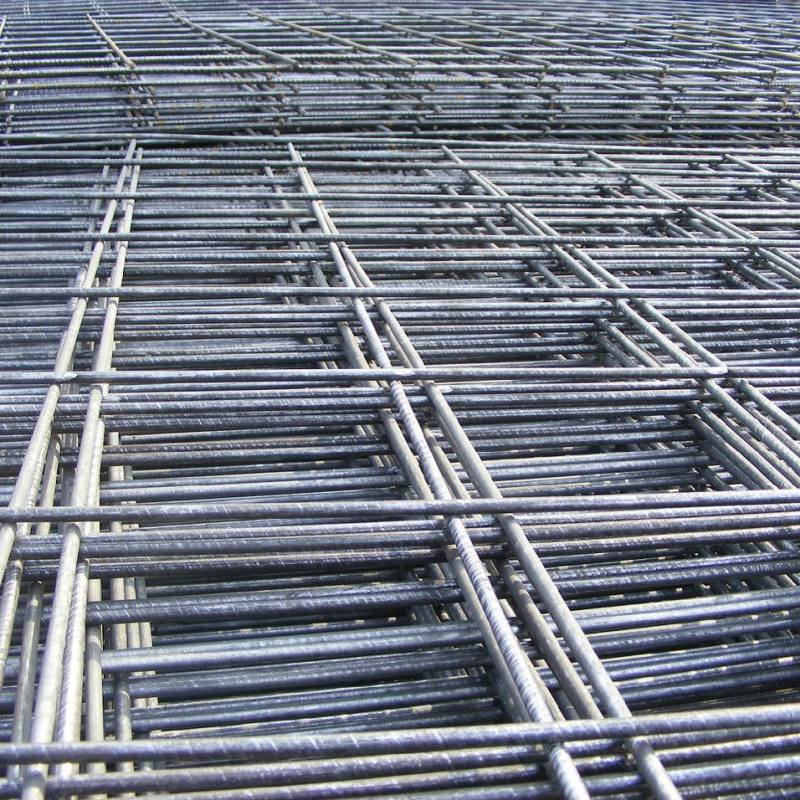 Galvanized Wire Mesh Fence Panels