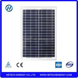 High performance polysilicon 20w solar panel price