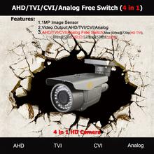 "High resolution 850TVL 1/4"" CMOS Sensor IR IP66 CCTV Waterproof Camera in CCTV Camera 4 in 1 Made in Newsurway ShenZhen"