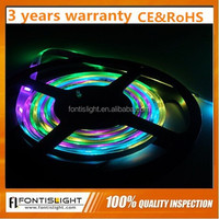Waterproof DC5V 5050 WS2812B LED bar light/ LED IP65 Magic Flexible strip light