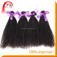 New Arrival Human Virgin Kinky Curl Hair Extension Chinese Curly Virgin Hair